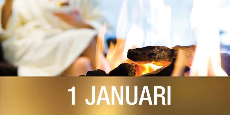 Sanadome Nieuwjaar.1 Januari Arrangement Thermen Overnachting