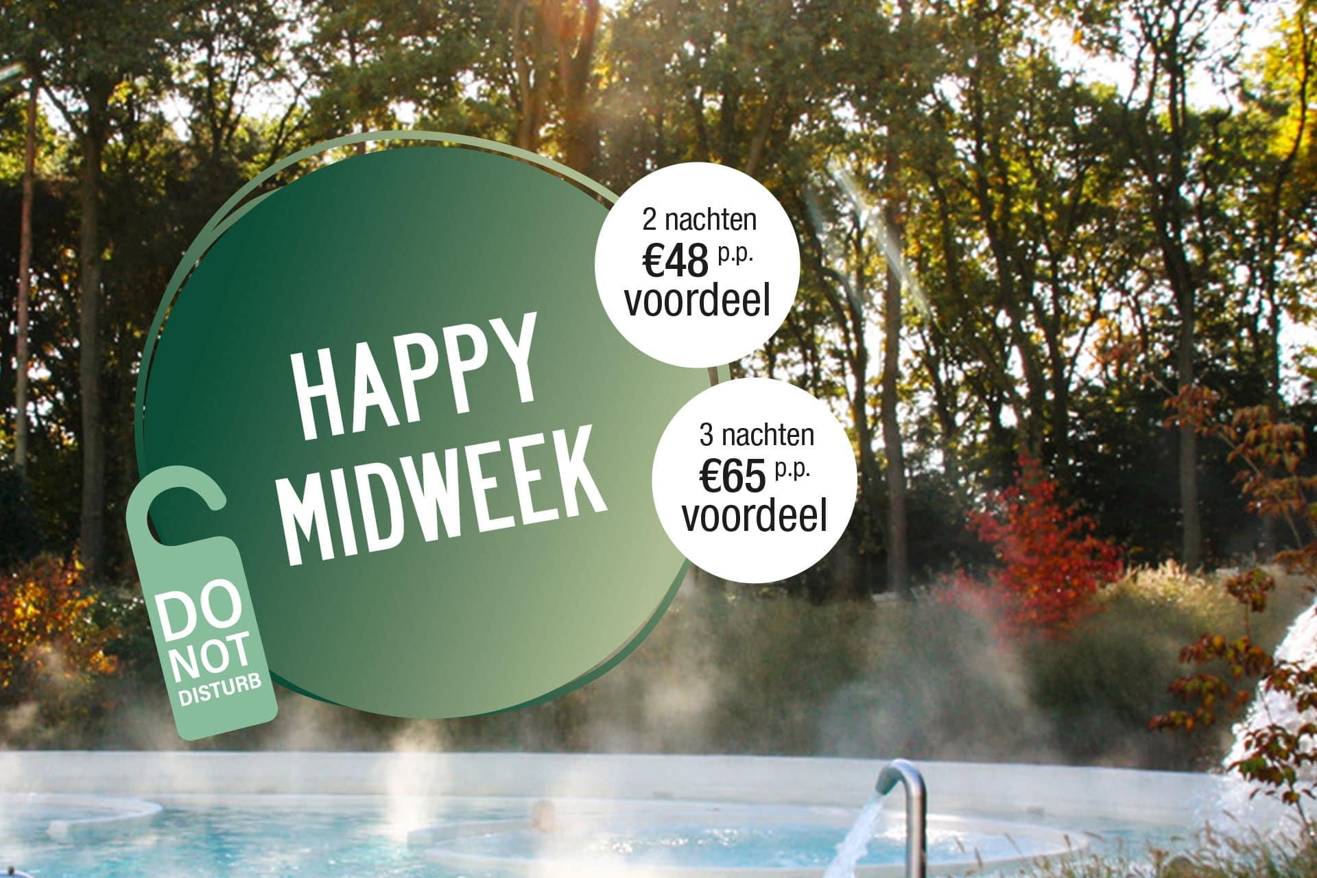 Happy Midweek Hotel mobiel banner